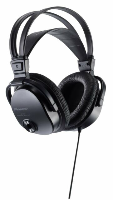 Pioneer Japan Dynamic Stereo Headphone Powerful Bass Sound SE-M521 Black