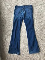 Women's Seven 7 For All Mankind Flare Thick Stitch Jeans 25