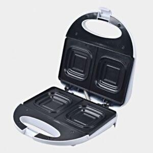 Deep Dish Sandwich Maker Press Toaster/Toast Nonstick square loaf bread 2 Slice