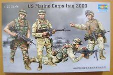 TRUMPETER® 00407 US Army Marine Corps in Iraq 2003  Figuren in 1:35