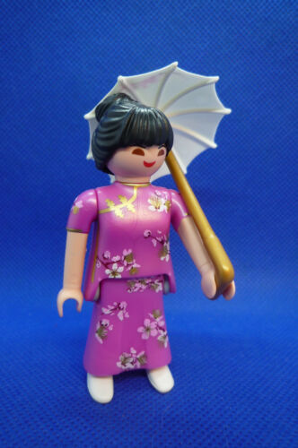 Playmobil SU-10 Woman Figure Series 16 filles Japonais Oriental 70160