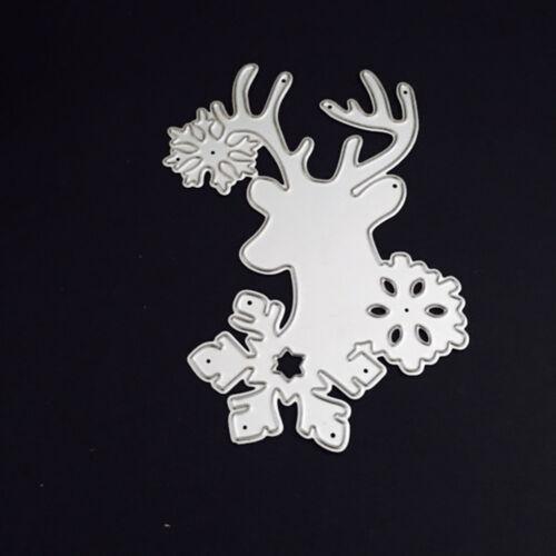 2018 Christmas Metal Cutting Dies Stencil Scrapbooking Card Paper Embossing DIY