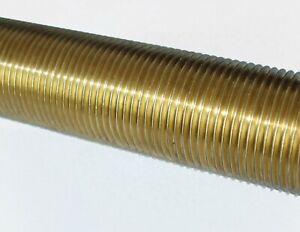"""Brass threaded tube -1m length 40mm).Choose 1.1/4"""" or 1.1/2""""BSP 1-73984/85"""