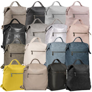 Fritzi aus Preußen Harper Mini Caribo Rucksack Damen Schultertasche Handtasche