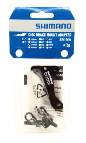 51mm Caliper Shimano F180S//SA Disc Brake Adaptor for 180mm Rotor 51mm Fork