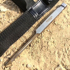 "7"" Defender Xtreme Triangle Blade Dagger / Spike / Throwing Knife with Sheath -"
