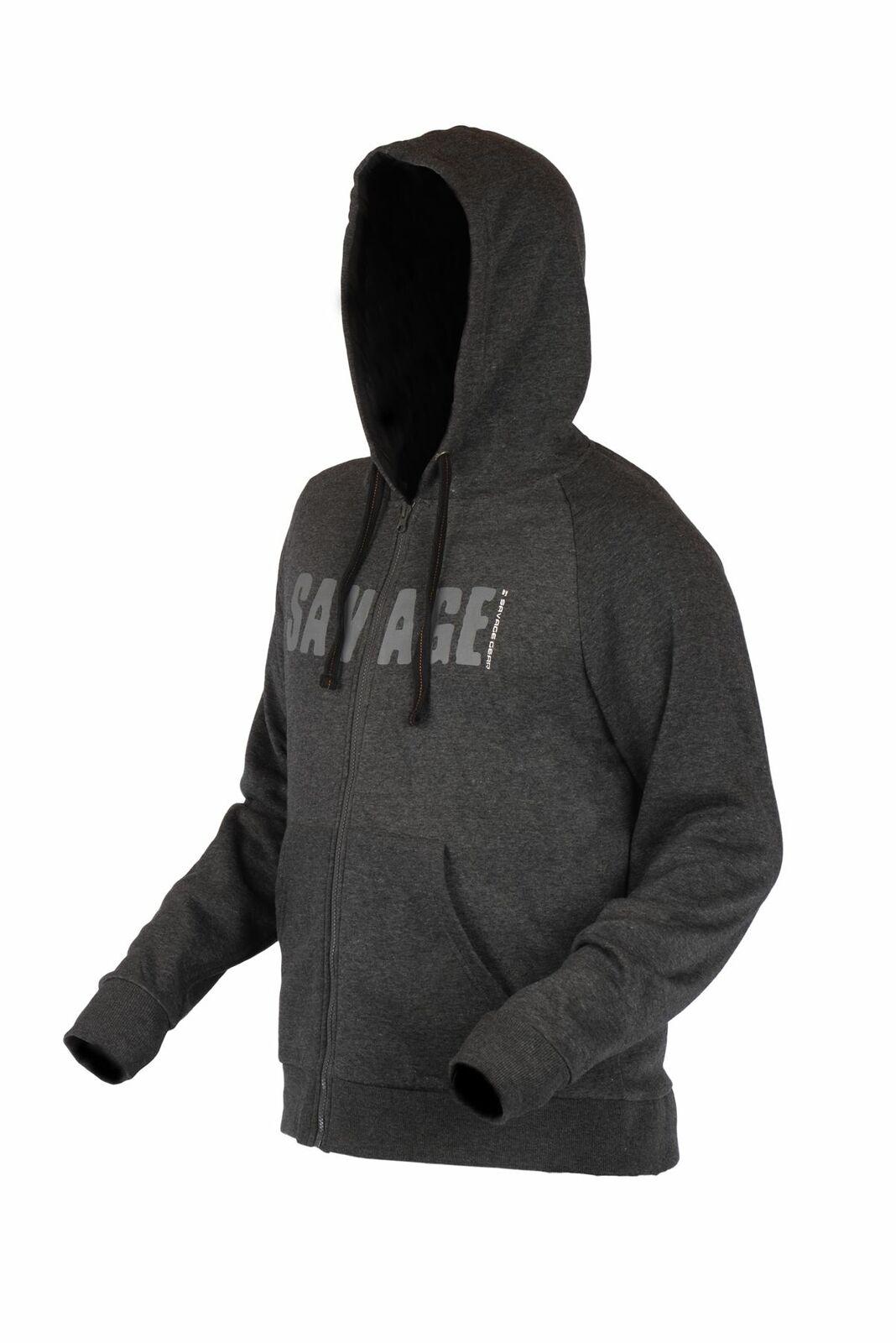 Savage Gear Simply Savage Zip  Hoodie  factory outlet store