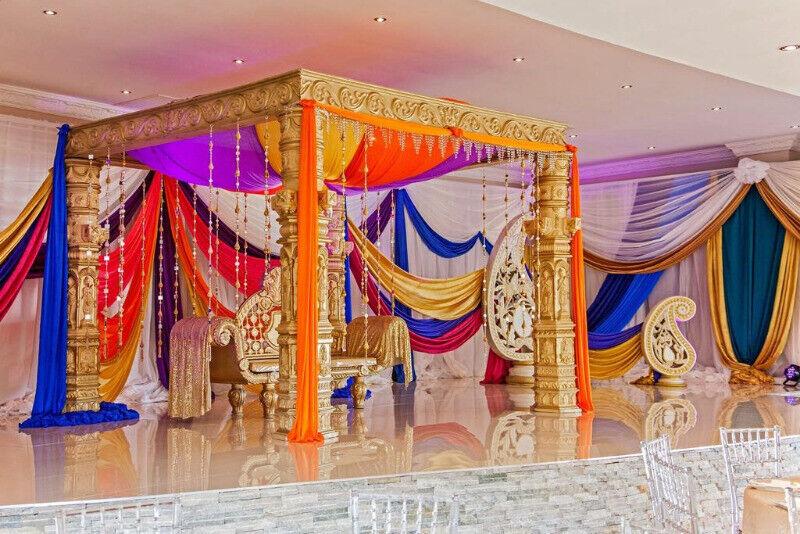 affordable and elegant night before decor- all themes, arabian, peacock, rajasthani, elephants