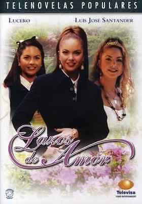 Lazos De Amor  * Telenovela * Lucero* New & Sealed DVD * 1995 Novela (Televisa)