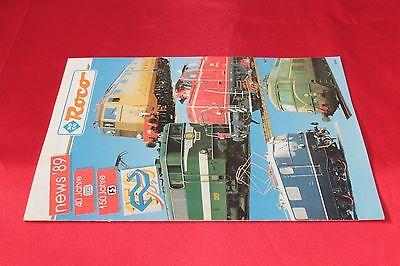 Acquista A Buon Mercato Catalogo Modellismo Ferroviario Roco News 1989