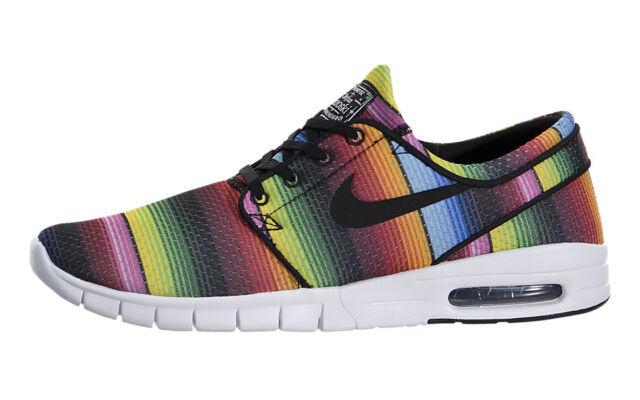 Buy Nike SB Stefan Janoski Max PRM 807497 407 Multicolor Mens Sz 9 ... 94f8a26a8