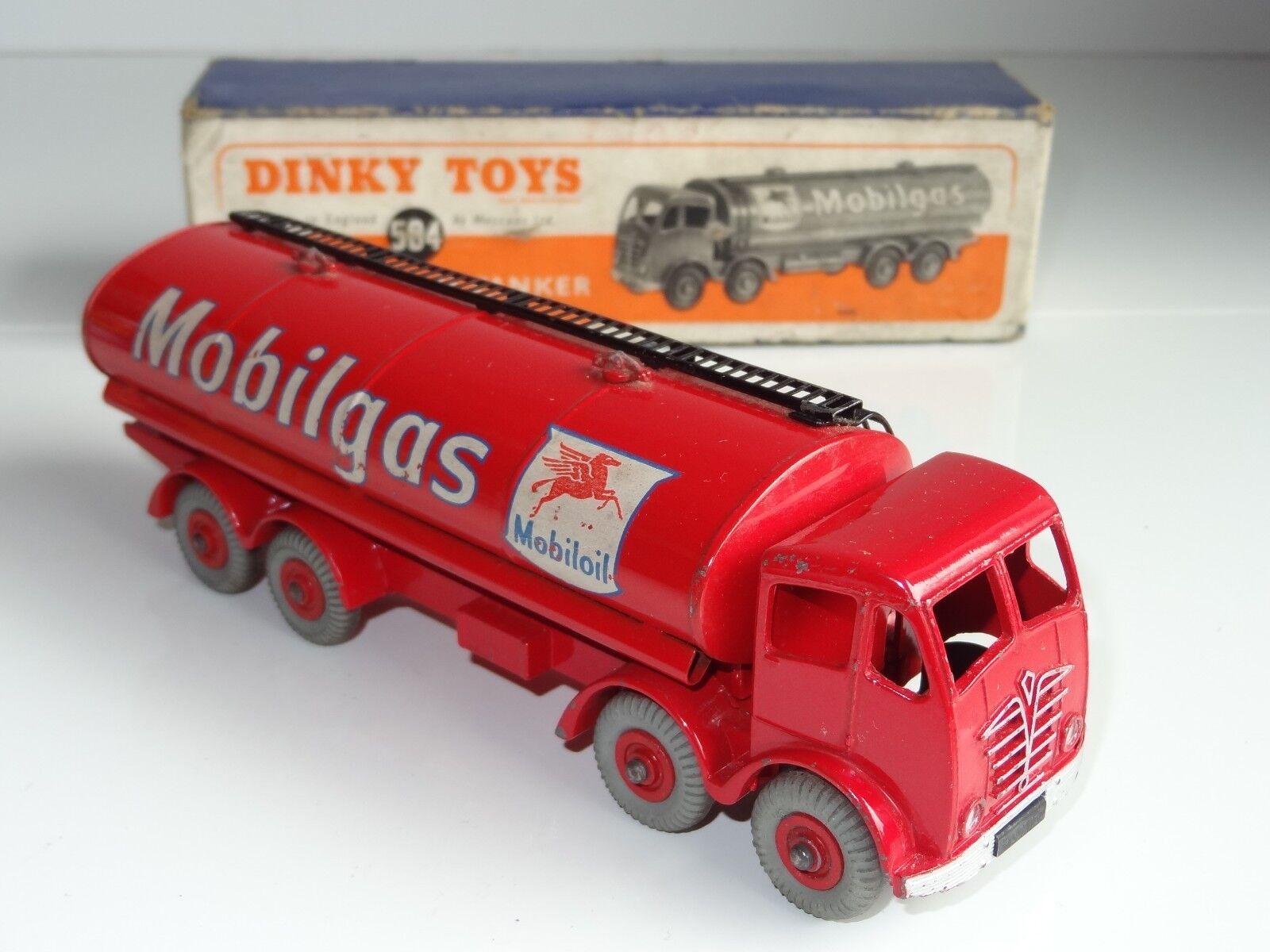 (A) dinky FODEN MOBILGAS 14 TON TANKER - 504
