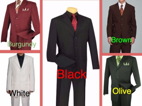 $199 Size 48 to 70 Men/'s Big /& Tall Suit Jacket /& Pants HIGH QUALITY