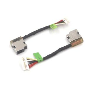New HP O 15-AX 15-AX001NF DC Power Jack Charging Cable Harness ...