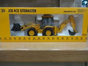 JCB 4CX SITEMASTER Scale Model (1:35) Boxed New - JOAL