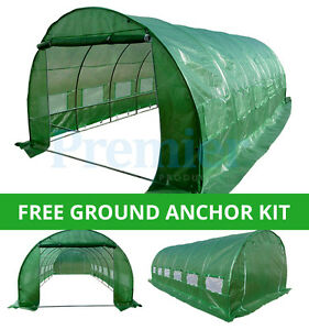 POLYTUNNEL-6M-X-3M-6-SECTION-GREENHOUSE-FULLY-GALVANISED-STEEL-FRAME-POLY-TUNNEL