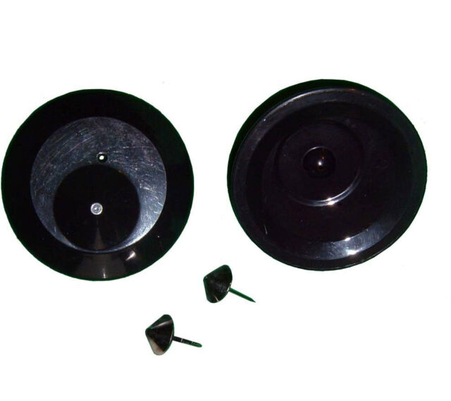 1000 RF Hartetiketten OVNI Ø63 mit Nadeln 8.2MHz Artikelsicherung Warensicherung