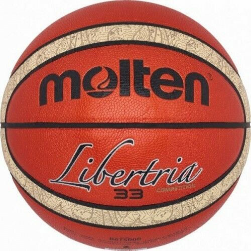 Molten Outdoor Basketball 6T5000 Fiba Orange Crème Synthétique Cuir Cuir Cuir B6T5000 83f856