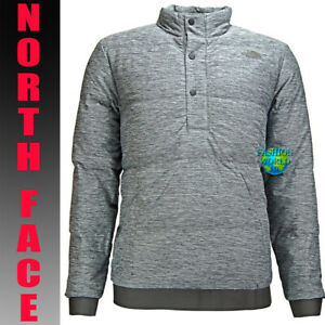 414a9b984 Details about The North Face Men's Size XL Eros 550 Goose Down Pullover  Jacket Grey Heather
