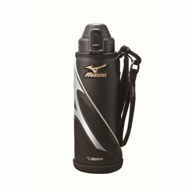 Zojirushi SD-AM10-BA Thermal Stainless Cool Thermos Bottle 1.03L (Black) HTR