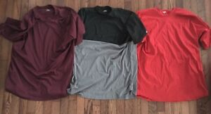Lot of 3 Rawlings Men's Short Sleeve Baselayer Shirts - Size L - Free Shipping