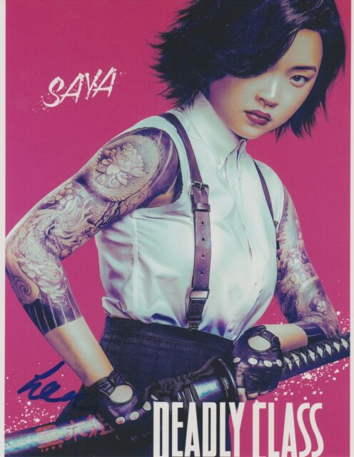 Lana Condor Deadly Class Autographed Signed 8x10 Photo COA EE372