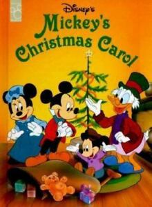 classics mickeys christmas carol 1995 hardcover - Mickey Christmas Carol