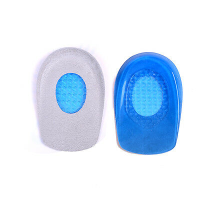 2x silicone gel-talons coussin semelles chaussures support patins pieds so ITHWC