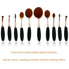 New Toothbrush Makeup Brushes Eyebrow Oval Powder Cream Foundation Brush Pro