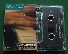Beethoven Masters of Music Piano Concertos + Telegraph Cassette Tape - TESTED