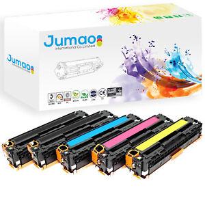 Lot-de-5-Toners-cartouches-type-CE32-Jumao-pour-HP-LaserJet-Pro-CP1525n-CP1525nw