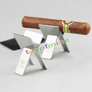 Stainless-Steel-Foldable-Ashtray-Showing-Cigarette-Cigar-Stand-Holder