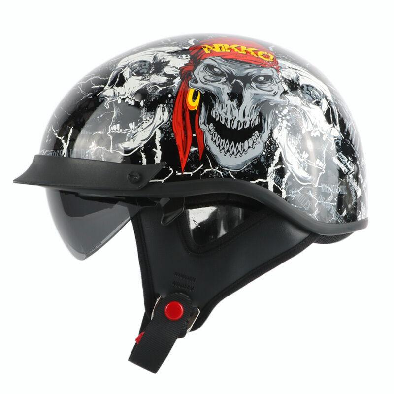 Motorbike Helmet THH T72 Approved Chopper Helmet Chopper Style DOT
