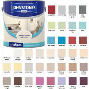 Johnstones premium soft sheen 2 5 l paint for walls and - Johnstones exterior masonry paint ...