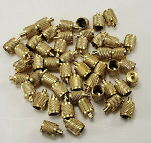 HVAC-50-Brass-Schrader-Wrench-Caps-With-Neoprene-O-Ring-Seal-1-4-034
