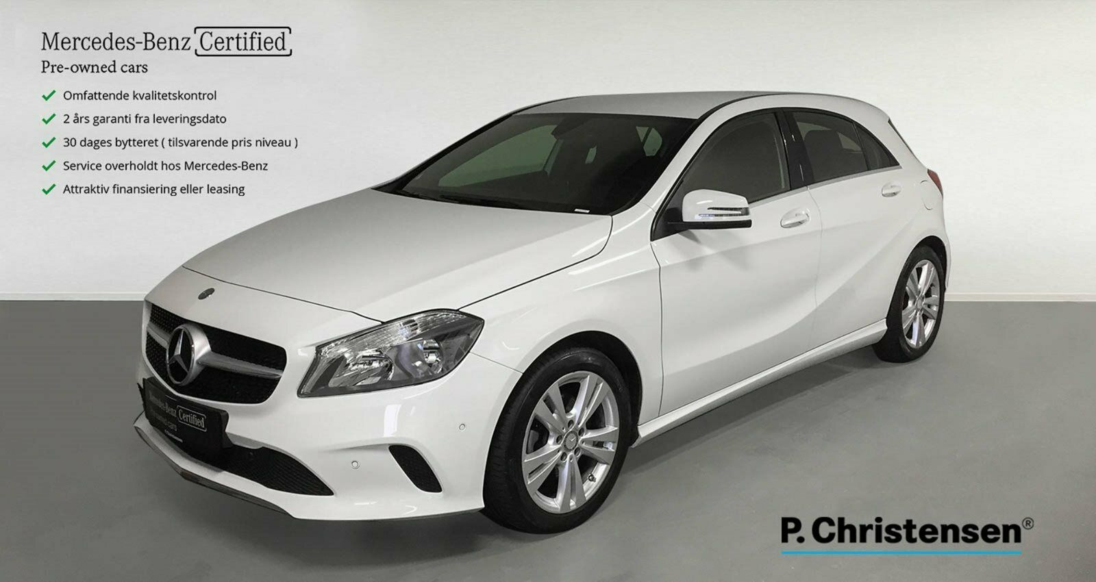Mercedes A200 1,6 Urban aut. 5d - 269.900 kr.