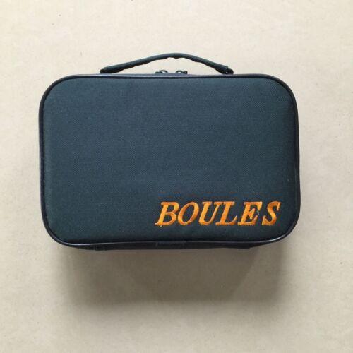 Transporttasche für Boules Metallkugeln Boule-Kugeln Boccia (6 Kugeln Tasche )