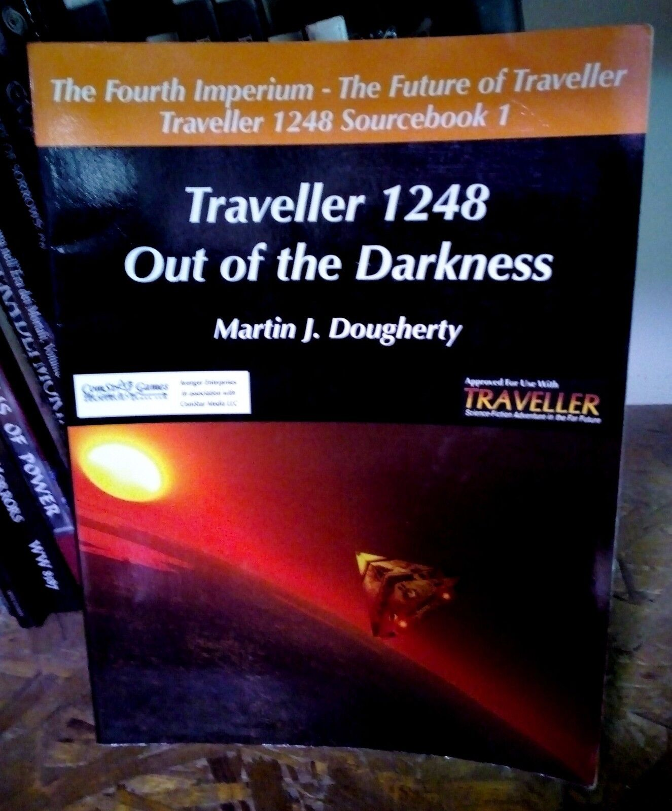 Traveller 1248 Sourcebook 1 Out of the Darkness RPG Martin J Dougherty VERY RARE