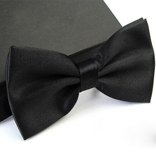 Mens Bow Tie Classic Novelty Mens Adjustable Tuxedo Bowtie Wedding Necktie