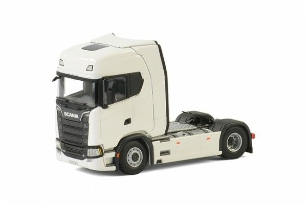 1 50 WSI SCANIA S Highline cs20h 4x2 Blanc 2-AXE ZM 03-2003