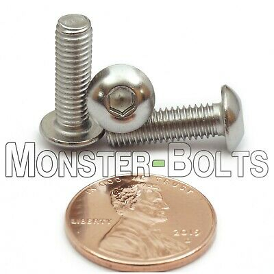 PACK OF 20 M4 x 16mm METRIC A2 STAINLESS DIN7380 SOCKET BUTTON HEAD SCREW BOLTS