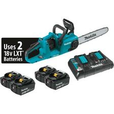 Makita XCU03PT1 Lithium-ion Brushless Cordless Chain Saw Kit With 4 Batteries