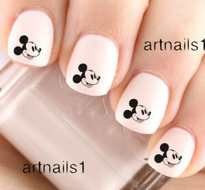 Disney-Mickey-Mouse-Nail-Art-Water-Decals-Stickers-Manicure-Salon-Polish-Gift