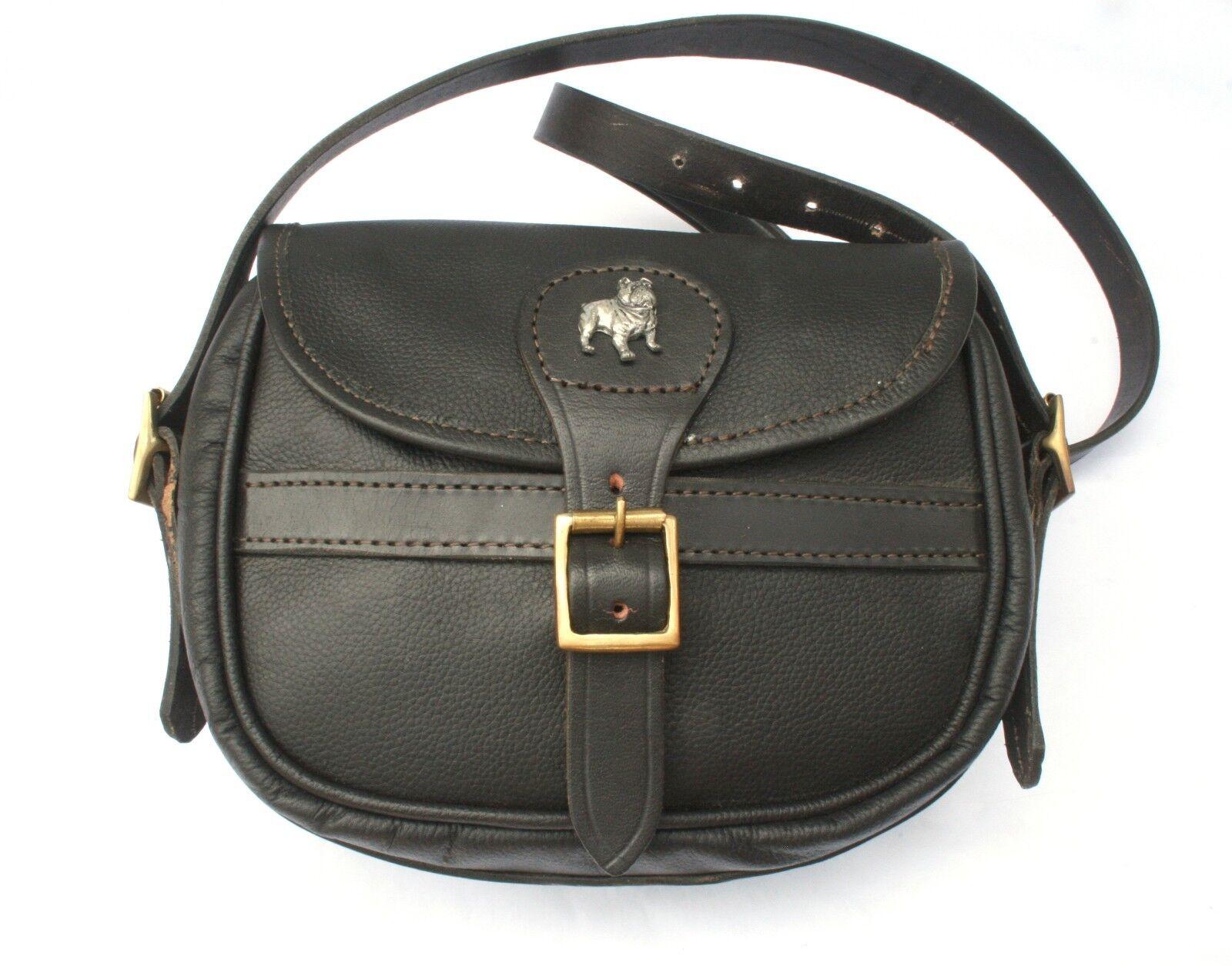 Bulldog Leather Shooting Cartridge Bag 75 Capacity Shooting Gift
