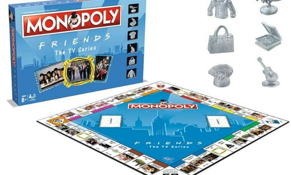 NEW Special Edition Friends Monopoly Monopoly Monopoly Board Game bef4d4