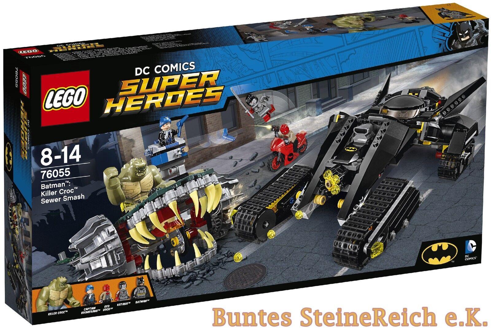 LEGO ® Batman ™  76055 killer Crocs ™ rapina nella fogna 0.  Spedizione Nuovo