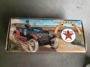 Vintage 1997 Texaco Maxwell1917 Touring Car Diecast Car Bank NEW!