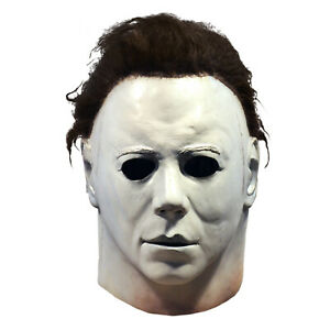 Michael-Myers-1978-Adult-Men-John-Carpenter-039-s-Halloween-Full-Latex-Costume-Mask