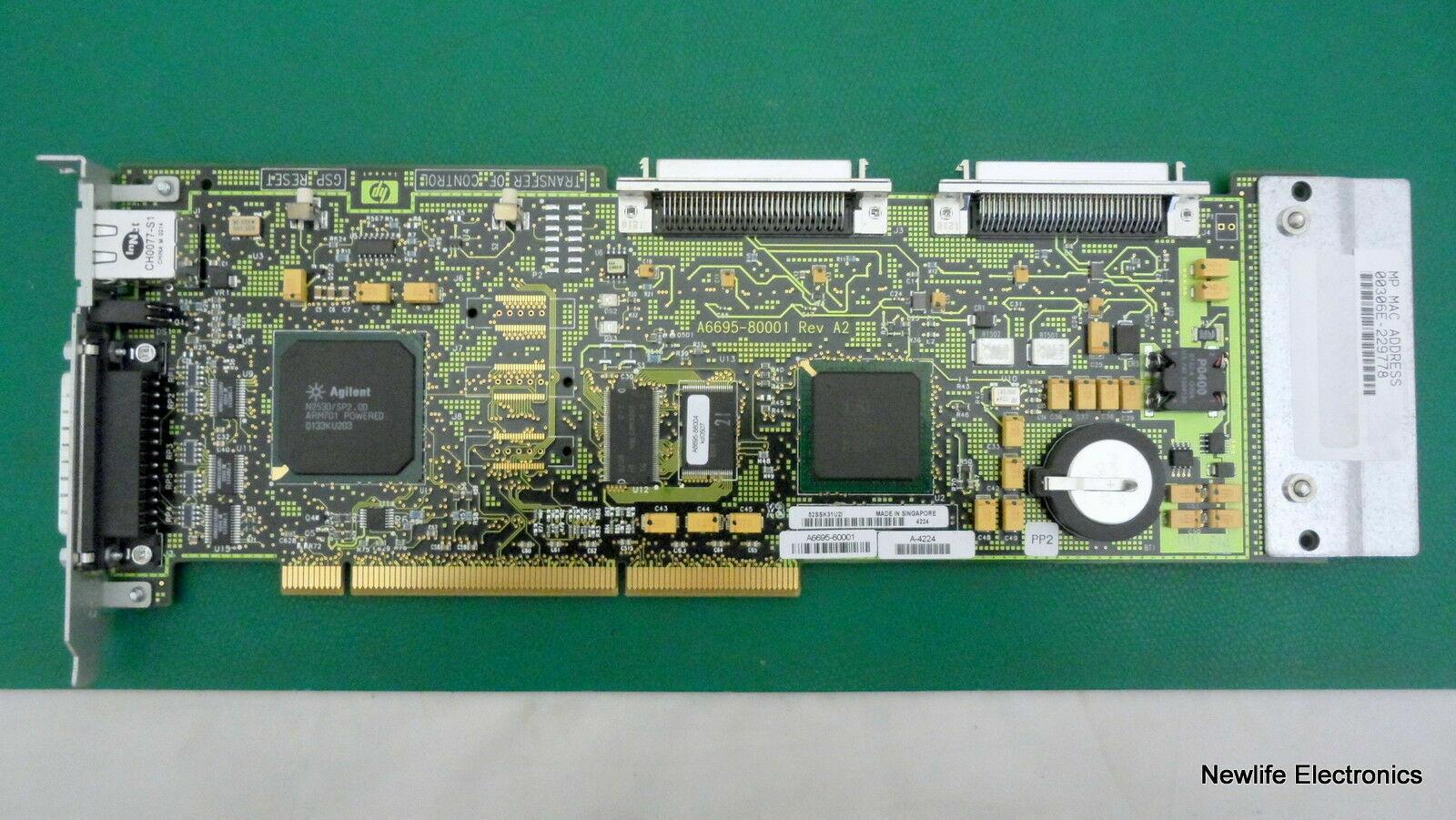 HP A6695-69101 MP/SCSI Core I/O PCI Feature Board A6695-60001