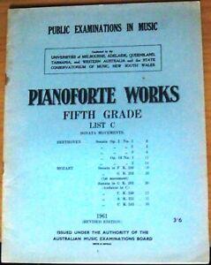 Pianoforte-Works-Fifth-Grade-List-C-Australian-Public-Examin
